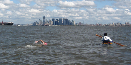Swimming to Manhattan in 2011